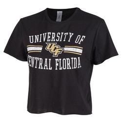 Juniors Logo Cropped T-Shirt by Zoozats