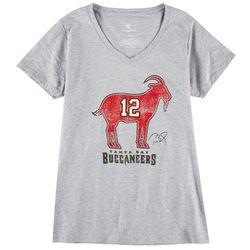 Buccaneers Womens Super Bowl Heathered T-Shirt