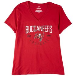 Buccaneers Womens Screen Printed Short Sleeve Shirt