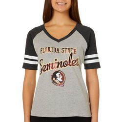 Florida State Juniors Raglan T-Shirt By G-III Apparel