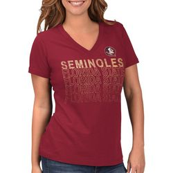 Florida State Juniors Logo Graphic T-Shirt By G-III