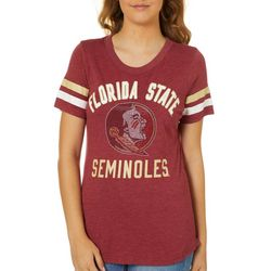 Florida State Juniors Jewel Logo T-Shirt By G-III Apparel