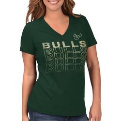 USF Bulls Juniors Logo Graphic T-Shirt By G-III Apparel