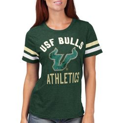 USF Bulls Juniors Jewel Logo T-Shirt By G-III Apparel