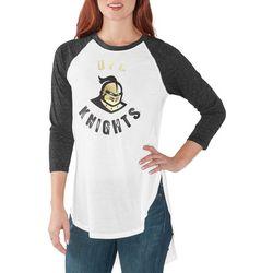 UCF Knights Juniors Raglan Logo T-Shirt By G-III Apparel