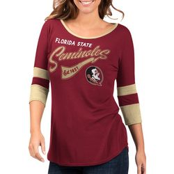 Florida State Juniors Colorblock T-Shirt By G-III Apparel