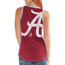 Alabama Juniors Jersey Tank Top By G-III Apparel