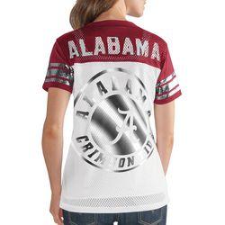 Alabama Juniors Metallic T-Shirt By G-III Apparel
