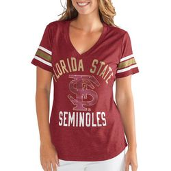 Florida State Juniors Embellished T-Shirt By G-III Apparel
