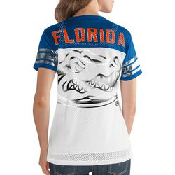 Florida Gators Juniors Metallic T-Shirt By G-III Apparel