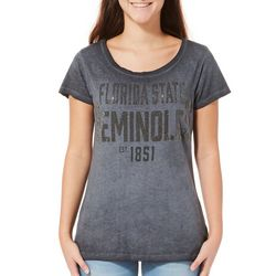 Florida State Juniors Rhinestone T-Shirt By G-III Apparel