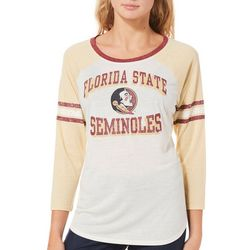 Florida State Juniors Colorblock Top By G-III Apparel