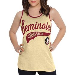 Florida State Juniors Colorblock Tank Top By G-III Apparel
