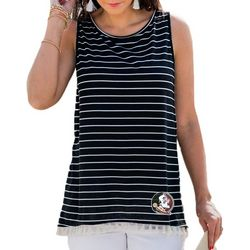 Florida State Juniors Striped Tank Top By Gameday Couture