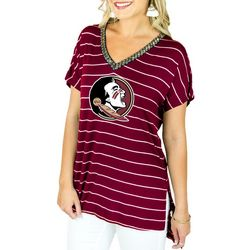Florida State Juniors Embellished Top By Gameday Couture