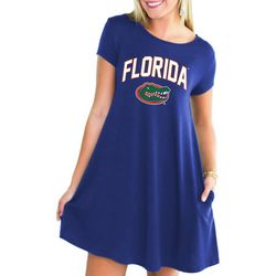 Florida Gators Juniors Logo Pocket Dress By Gameday Couture