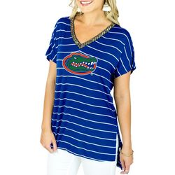 Florida Gators Juniors Embellished Top By Gameday Couture
