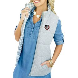 Florida State Juniors Reversible Vest By Gameday Couture