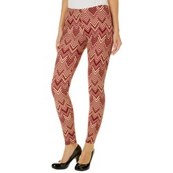 Florida State Juniors Chevron Leggings By Hot Kiss