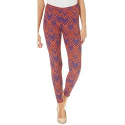 Florida Gators Juniors Chevron Leggings By Hot Kiss