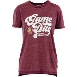 Florida State Juniors Boyfriend Gameday T-Shirt By Pressbox