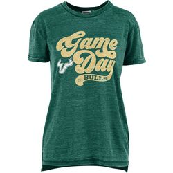 USF Bulls Juniors Boyfriend Gameday T-Shirt By Pressbox