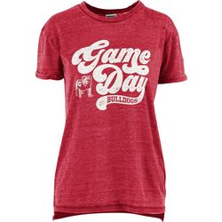 Georgia Bulldogs Juniors Boyfriend Gameday Shirt By Pressbox