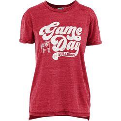 Georgia Bulldogs Juniors Boyfriend Gameday Shirt