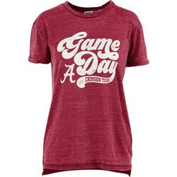 Alabama Juniors Boyfriend Gameday Shirt By Pressbox