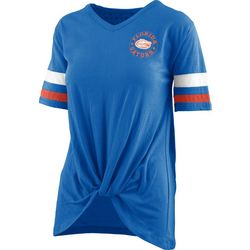 Florida Gators Juniors Twist Front T-Shirt By Pressbox