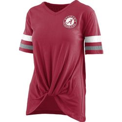 Alabama Juniors Twist Front T-Shirt By Pressbox