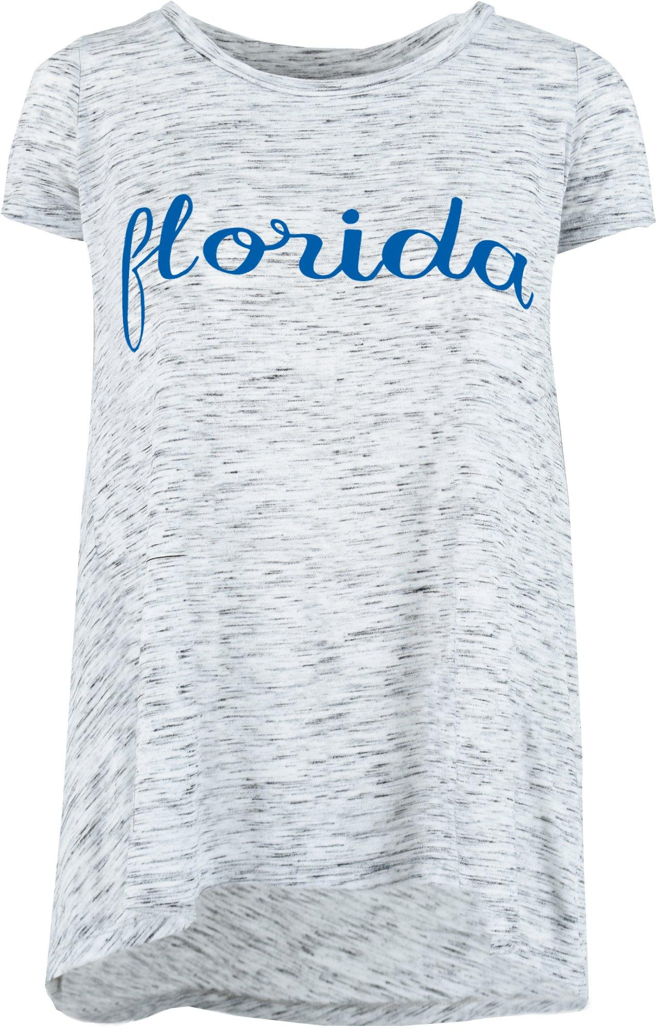 NWT FLORIDA GATOR SZ 2T WHITE T SHIRT FLORIDA GIRL FLOWERS SO CUTE!!