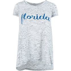 Florida Gators Juniors Florida Heathered T-Shirt By Pressbox