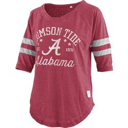 Alabama Juniors Jersey Logo T-Shirt By Pressbox