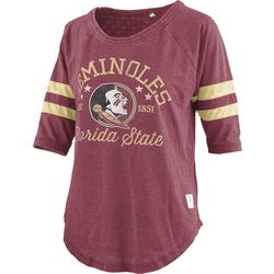 Florida State Juniors Jersey Logo T-Shirt By Pressbox