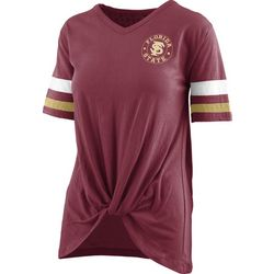 Florida State Juniors Twist Front T-Shirt By Pressbox