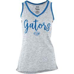 Florida Gators Juniors Heathered Tank Top By Pressbox
