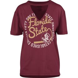 Florida State Juniors Cutout T-Shirt By Pressbox