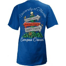 Florida Gators Juniors Campus Cruisin' T-Shirt By Pressbox