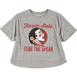 Florida State Juniors Fear The Spear Cropped Tee by Pressbox