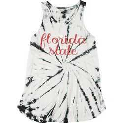 Florida State Juniors Sleeveless Tie Dye Tank by Pressbox