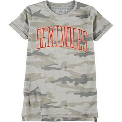 Florida State Juniors Camo T-Shirt by Pressbox