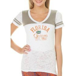 Florida Gators Juniors Burnout T-Shirt By Blue 84
