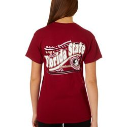 Florida State Juniors Garnet T-Shirt By New World Graphics
