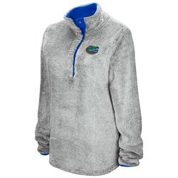 Florida Gators Juniors Button Placket Pullover By Colosseum