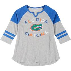 Juniors Baseball Style Tee By Colosseum