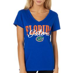 Florida Gators Juniors Script Logo T-Shirt By Colosseum