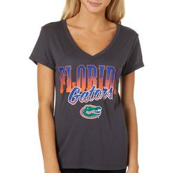 Florida Gators Juniors Logo Script T-Shirt By Colosseum