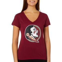 Florida State Juniors Seminoles Logo T-Shirt By Colosseum