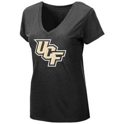UCF Knights Juniors Logo V-Neck T-Shirt By Colosseum